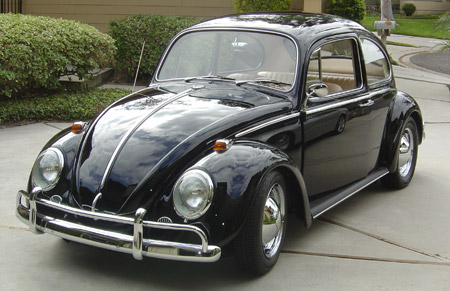 Re-Upholstered Volkswagen Bug